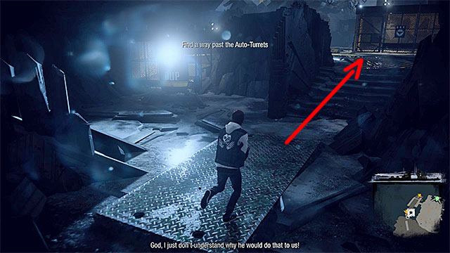 When you regain control over Delsin, move away from the enemies wholl rush at you - 15: Quid pro Quo - exploration of the prison - Walkthrough - inFamous: Second Son - Game Guide and Walkthrough