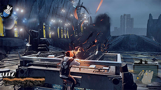 Regenerate the Smoke and heavy ammo often - 15: Quid pro Quo - exploration of the prison - Walkthrough - inFamous: Second Son - Game Guide and Walkthrough