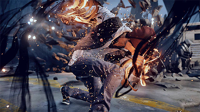 Usage of the special attack ends the first part of the encounter - 15: Quid pro Quo - exploration of the prison - Walkthrough - inFamous: Second Son - Game Guide and Walkthrough