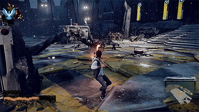 Try to kill elite enemies ASAP and then focus on the regular soldiers - 15: Quid pro Quo - exploration of the prison - Walkthrough - inFamous: Second Son - Game Guide and Walkthrough