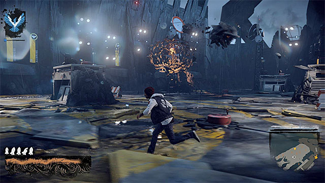brooke augustine 1 boss fights infamous second son