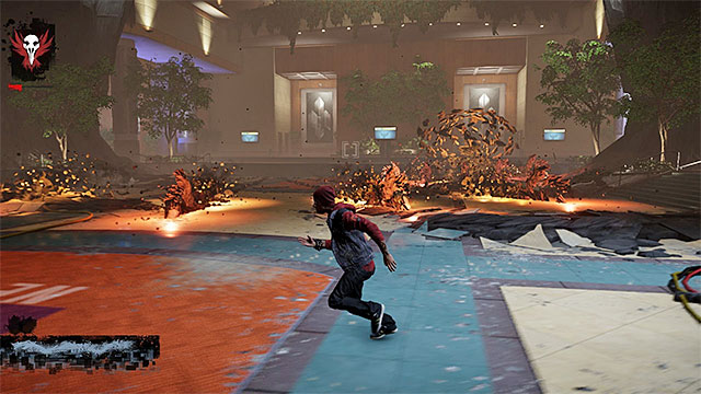 Dodge to prevent taking damage from Augustines attacks - 17b: Kill Augustine - defeating Augustine - Walkthrough - inFamous: Second Son - Game Guide and Walkthrough