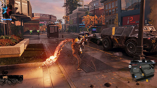 Hand to hand combat is risky, but it allows you to preserve your smoke reservoir. - 2. Combat - inFamous: Second Son in 10 Easy Steps - inFamous: Second Son - Game Guide and Walkthrough