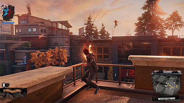 Attacking enemies from afar is generally safer, but you must demonstrate a higher degree of accuracy. - 2. Combat - inFamous: Second Son in 10 Easy Steps - inFamous: Second Son - Game Guide and Walkthrough