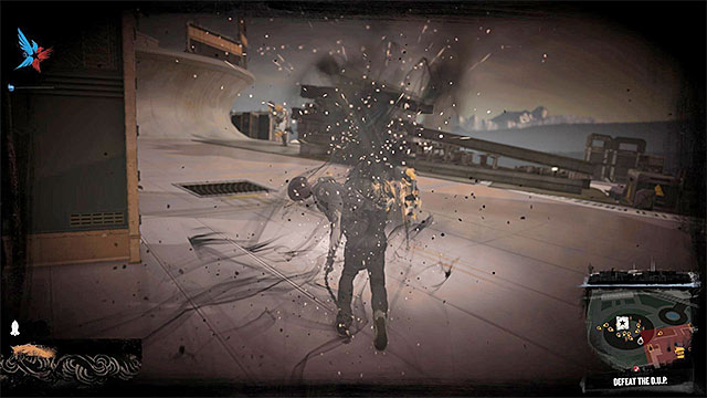 Retreat from combat if Delsin has suffered critical injuries. - 10. The death of the character - inFamous: Second Son in 10 Easy Steps - inFamous: Second Son - Game Guide and Walkthrough