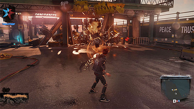 Destroy checkpoint to reveal collectibles - Queen Anne - more difficult activities - City - inFamous: Second Son - Game Guide and Walkthrough