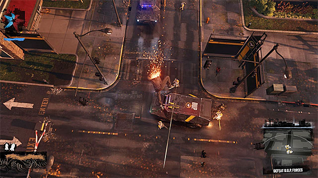 A powerful punch is a good starting point - Queen Anne - District Showdown - City - inFamous: Second Son - Game Guide and Walkthrough