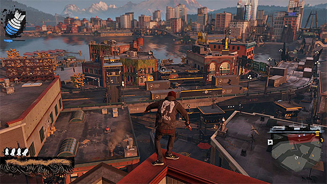 Enemy base - Market District - more difficult activities - City - inFamous: Second Son - Game Guide and Walkthrough