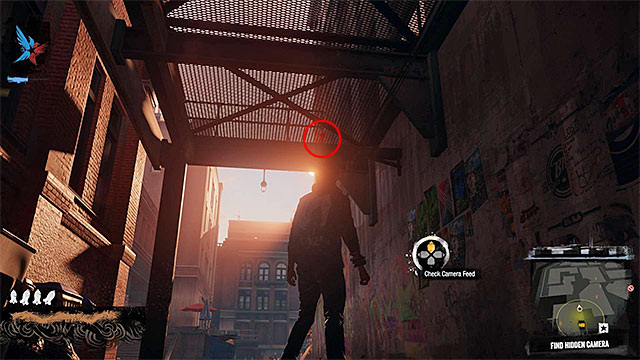 3) Hidden Camera - The camera you're looking for is located in the place shown on the above screen - Market District - more difficult activities - City - inFamous: Second Son - Game Guide and Walkthrough
