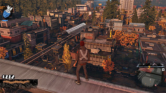 Enemy base - Paramount - more difficult activities - City - inFamous: Second Son - Game Guide and Walkthrough