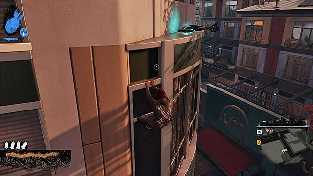 One of drones - Paramount - more difficult activities - City - inFamous: Second Son - Game Guide and Walkthrough