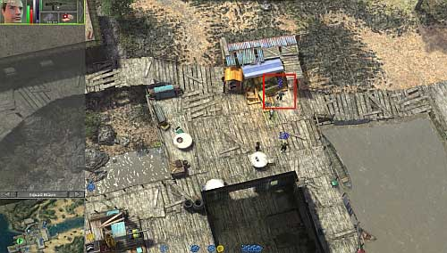 When you do it, return to the marketplace and talk with Hasim - Yadong harbor [1] - Secondary missions - Jagged Alliance: Crossfire - Game Guide and Walkthrough