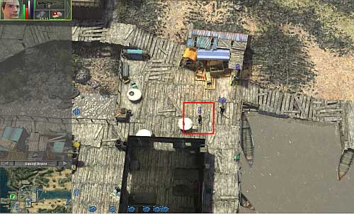 To begin this mission, you have to complete clean up the streets - Yadong harbor [1] - Secondary missions - Jagged Alliance: Crossfire - Game Guide and Walkthrough