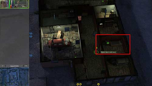 After the dialogue you get a key, with which you can open the door in the building - Yadong harbor [1] - Secondary missions - Jagged Alliance: Crossfire - Game Guide and Walkthrough