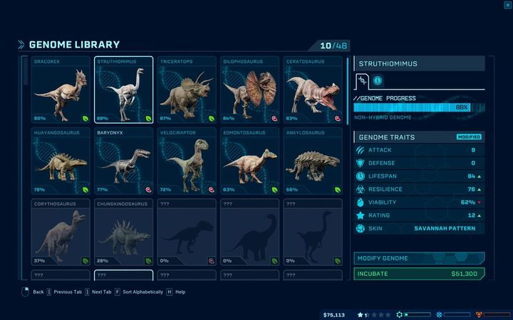 Genome Modifications In Jurassic World Evolution Jurassic World Evolution Game Guide Gamepressure Com Contribute to pathos0925/jwem development by creating an account on github. jurassic world evolution game guide