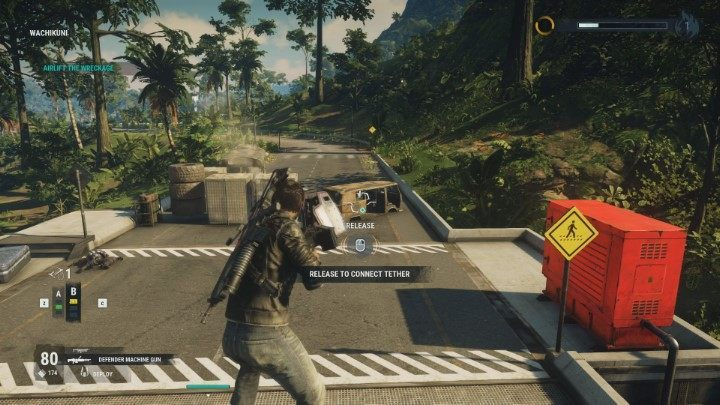 It allows you to attach a gas balloon to the objects, so that they can fly upwards to remove obstacles on the trucks road - Behind the Lines | Sargento Missions walkthrough for Just Cause 4 - Sargento Missions - Just Cause 4 Guide