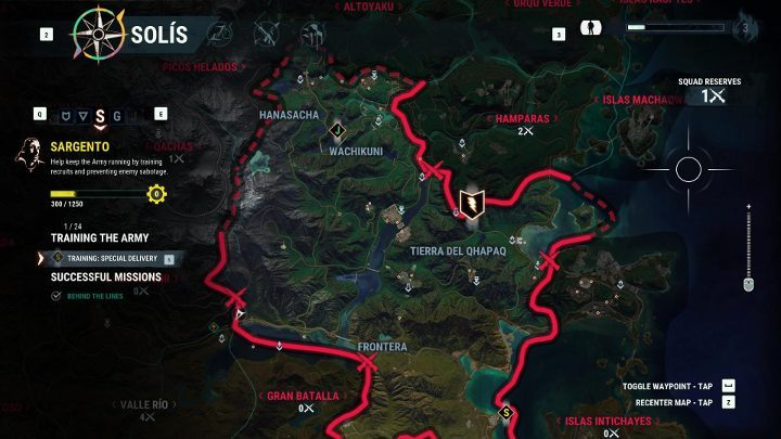 All currently available missions are displayed on the map. - Mission types in Just Cause 4 - Basics - Just Cause 4 Guide