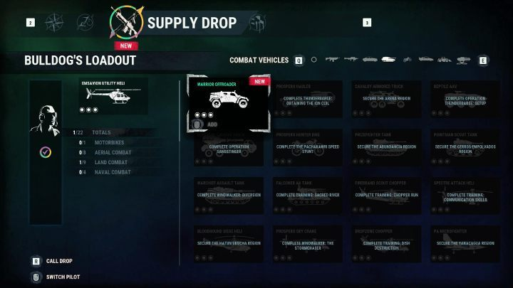 With every piece of equipment youll see what needs to be done to unlock it. - How to unlock Supply Drops in Just Cause 4? - FAQ - Just Cause 4 Guide