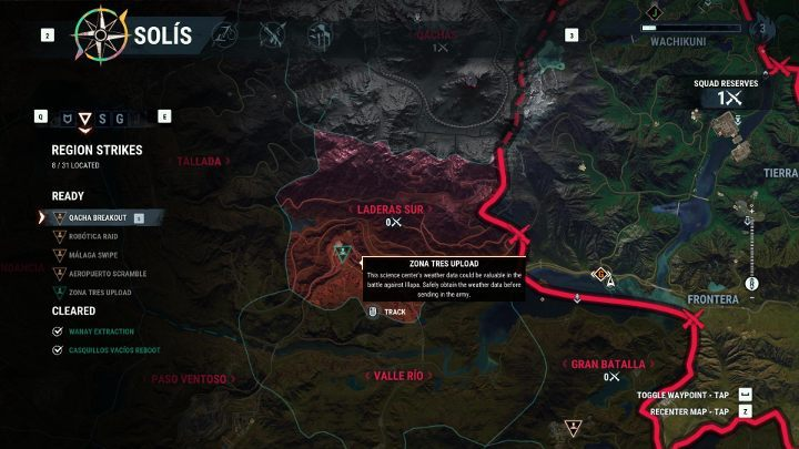 On the world map you will find out what requirements need to be met and how many units need to be allocated in order to take over the region. - Securing Regions in Just Cause 4 - Basics - Just Cause 4 Guide