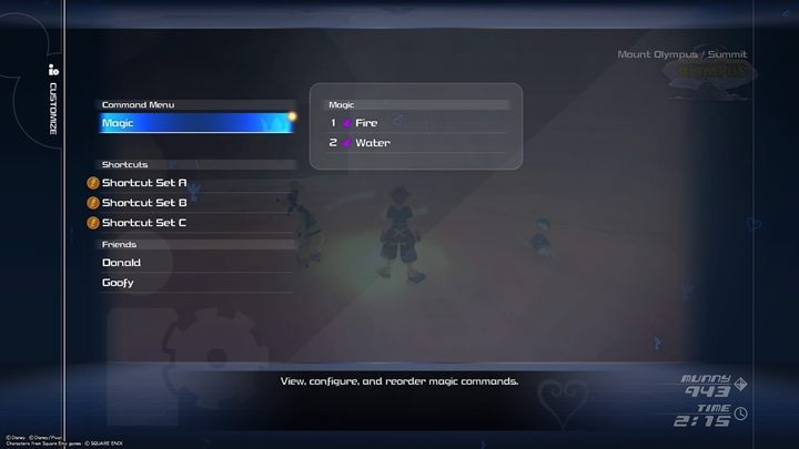 In the menu, you can assign shortcuts that will e - General tips for Kingdom Hearts 3 - Basics - Kingdom Hearts 3 Guide