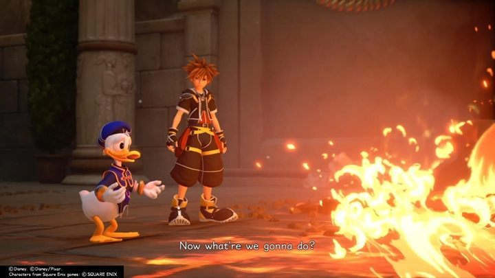 Donald and Goofy (and, sometimes, characters from other worlds) will provide comments - General tips for Kingdom Hearts 3 - Basics - Kingdom Hearts 3 Guide