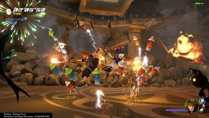 Press L2/LT (default buttons) to switch between special actions that you can use during a fight - General tips for Kingdom Hearts 3 - Basics - Kingdom Hearts 3 Guide