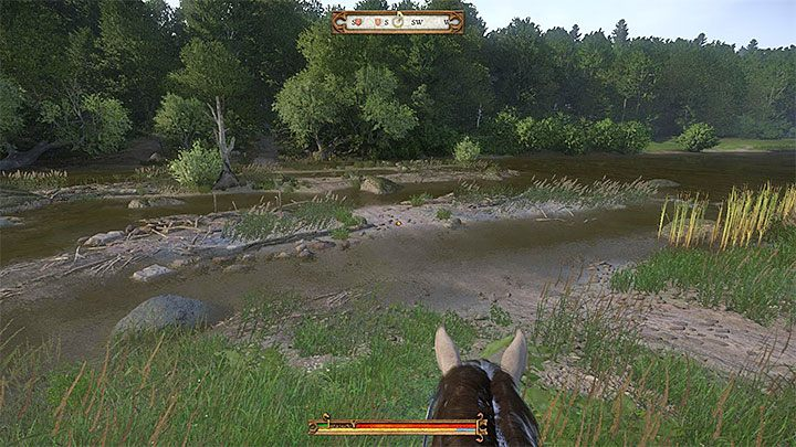 Start your searches far to the south from Skalitz (south-west from Rovna) - Treasure XVI | Treasure maps in Kingdom Come Deliverance - Treasure maps - Kingdom Come Deliverance Game Guide