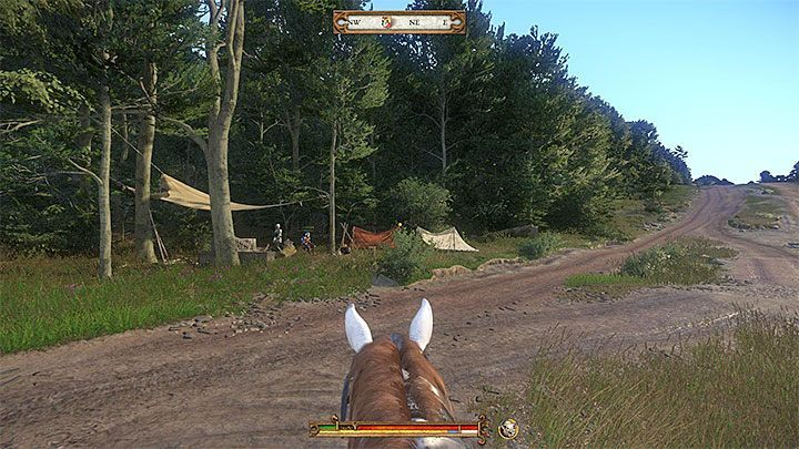 Second auto save will be created in the final stage of epilogue, specifically after reaching the depicted camp in the above screenshot - Is it possible to continue gameplay in Kingdom Come after finishing the game? - FAQ - Kingdom Come Deliverance Game Guide