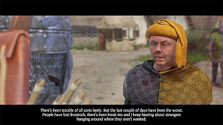 Go to the urban part of Sasau if you still dont know the location of fort Vranik (you didnt met with the bandits in the marsh / you have attacked the bandits / you escaped from the meeting spot) - The Die is Cast | Main quests in Kingdom Come Deliverance - Main quests - Kingdom Come Deliverance Game Guide