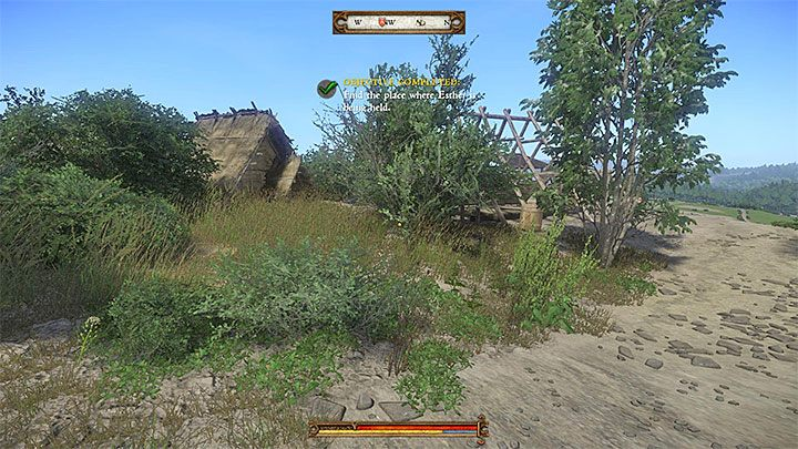 To find Esther, go to the hills west of Rovna - Sasau | Side quests in Kingdom Come Deliverance - Side quests - Kingdom Come Deliverance Game Guide
