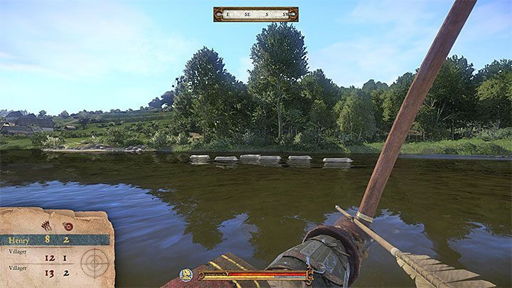 Vatshek can be found at the shooting range located by the river or when walking through the village - Ledetchko activities in Kingdom Come Deliverance - Activities - Kingdom Come Deliverance Game Guide