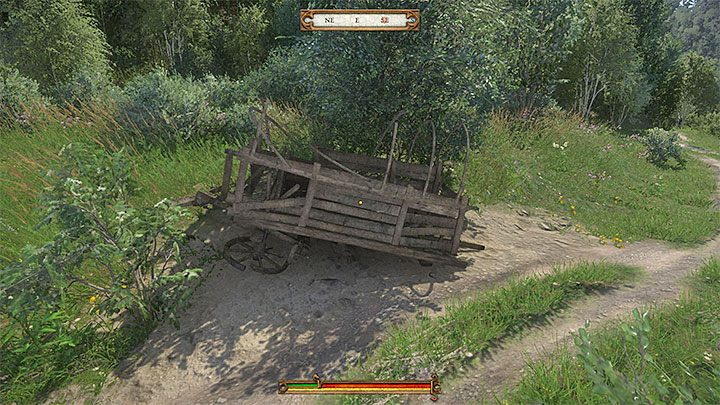 Start in the Ledetchko village in the central part of the map - Treasure IV | Treasure maps in Kingdom Come Deliverance - Treasure maps - Kingdom Come Deliverance Game Guide