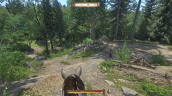 Stick to the main path that goes south - Uzhitz | Side quests in Kingdom Come Deliverance - Side quests - Kingdom Come Deliverance Game Guide