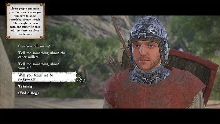 How to learn pickpocketing in Kingdom Come Deliverance? - Kingdom