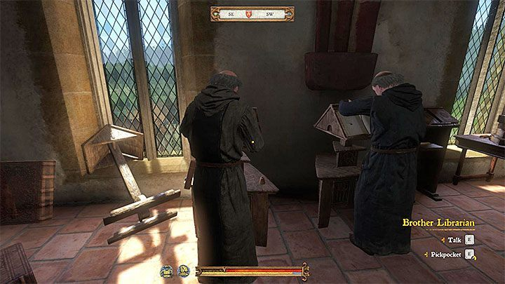 12:00 - Work in the library - A Needle in a Haystack | Main Quests Kingdom Come - Main quests - Kingdom Come Deliverance Game Guide