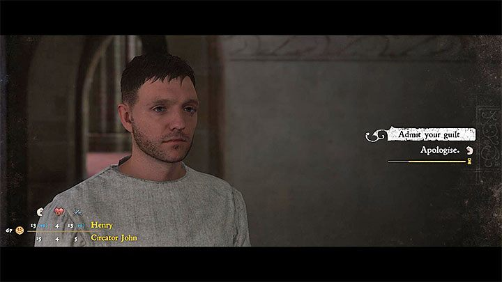 If Henry commits a crime that gets recorded, he might be detained by Stibor or one of the remaining monks - A Needle in a Haystack | Main Quests Kingdom Come - Main quests - Kingdom Come Deliverance Game Guide