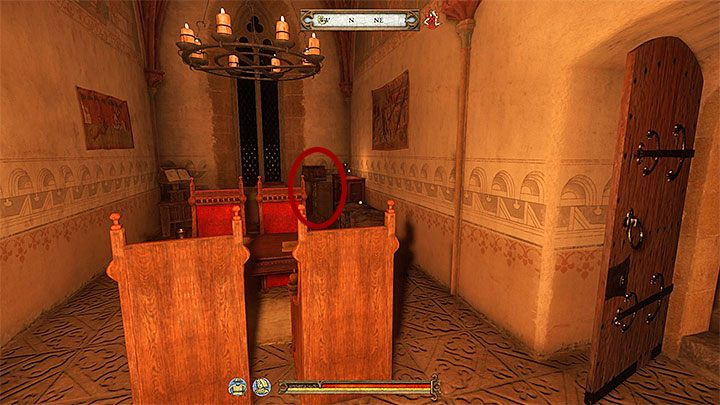 You can also try to sneak into Priors private chambers located on the upper floor - A Needle in a Haystack | Main Quests Kingdom Come - Main quests - Kingdom Come Deliverance Game Guide