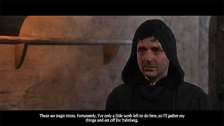The second task given by Divish is about recruiting a Medicus, who will help patching up the wounded - Siege | Main quests in Kingdom Come Deliverance - Main quests - Kingdom Come Deliverance Game Guide