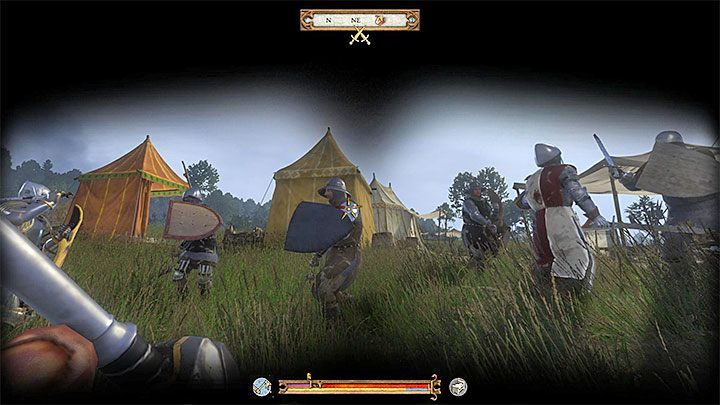 Immediately, after the beginning of a new quest, the game will assign you a goal to defend the trebuchet, which hostile army wants to destroy - Cold Steel, Hot Blood, Family Values | Main quests in Kingdom Come Deliverance - Main quests - Kingdom Come Deliverance Game Guide