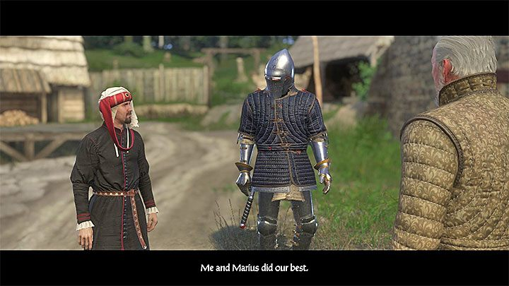 After you have completed all three tasks (church, income, residents), you can return to Talmberg and report back to Sir Divish - A Place to Call Home - side quest Kingdom Come From the Ashes walkthrough - Walkthrough - Kingdom Come Deliverance Game Guide