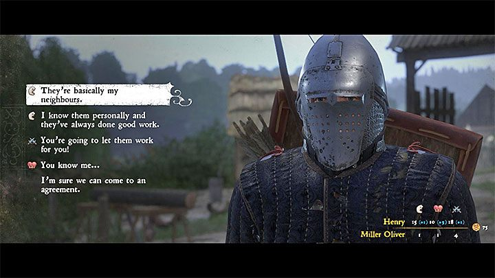 When you talk to Matthew and Fritz, you will find out that they are unemployed - How to betray your friends in the quest Gallows Brothers - Judas trophy guide? | Achievements & trophies - Achievements and trophies - Kingdom Come Deliverance Game Guide