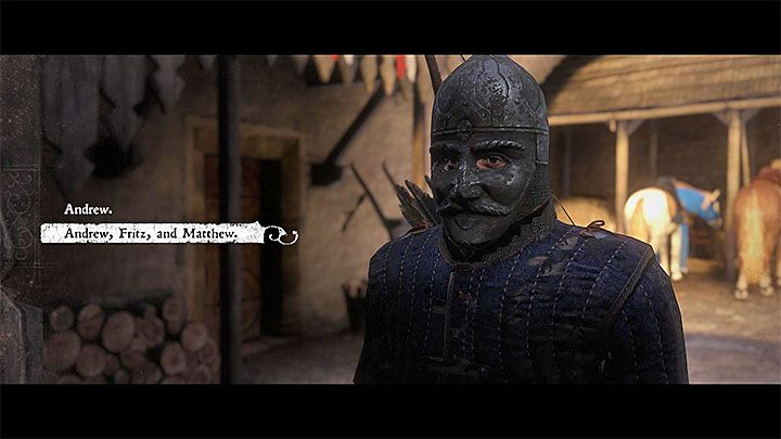 You can already return to Talmberg and talk to Sir Robard - How to betray your friends in the quest Gallows Brothers - Judas trophy guide? | Achievements & trophies - Achievements and trophies - Kingdom Come Deliverance Game Guide