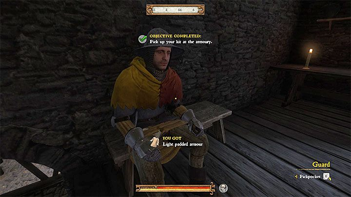 2 - How to acquire a good armor at the beginning in Kingdom Come Deliverance? - FAQ - Kingdom Come Deliverance Game Guide