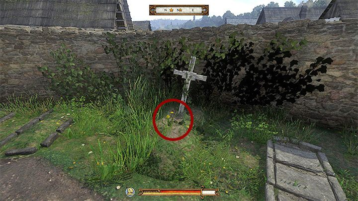 You need flowers that grow on a grave of a restless soul so go to Sasau - Ledetchko | Side quests in Kingdom Come Deliverance - Side quests - Kingdom Come Deliverance Game Guide