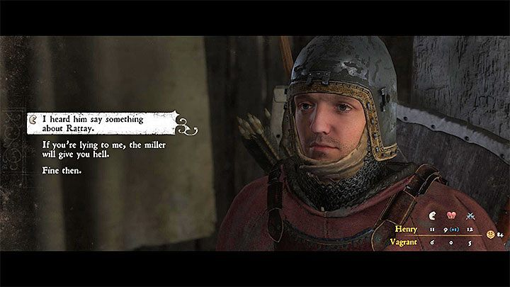 Get back to the captive and speak with the vagabond - Ledetchko | Side quests in Kingdom Come Deliverance - Side quests - Kingdom Come Deliverance Game Guide