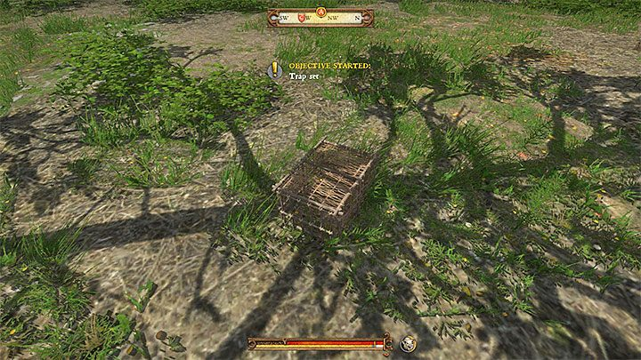 That cage should land on the ground - the picture above shows an example - Rattay | Side quests in Kingdom Come Deliverance - Side quests - Kingdom Come Deliverance Game Guide