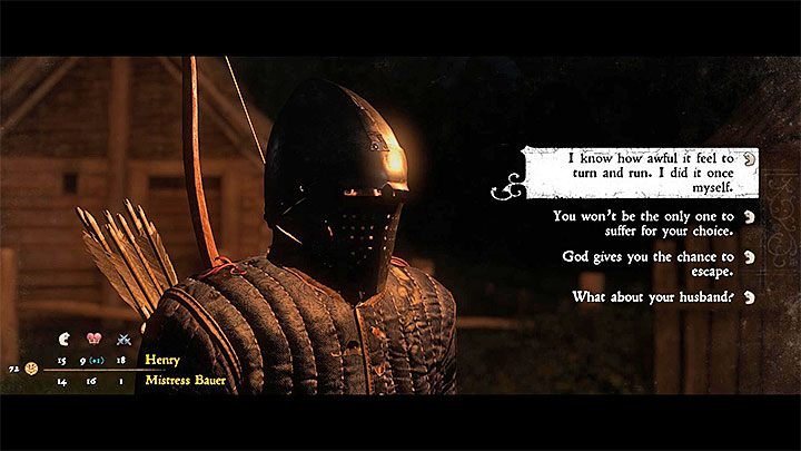 After watching the cutscene, you can immediately decide how to finish the quest, or return to Father Godwin and talk to him about it before making any decision - Rattay | Side quests in Kingdom Come Deliverance - Side quests - Kingdom Come Deliverance Game Guide