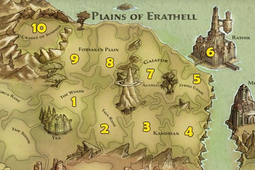 1 - The Wolds - Maps - p.1 | Maps - Maps - Kingdoms of Amalur: Reckoning Game Guide & Walkthrough