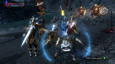 kingdoms of amalur how to pay guards