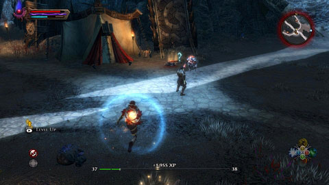 Talk to your companion and keep running forwards, until you reach Tuatha's camp M13(4) - Shadow Pass - Side missions - Kingdoms of Amalur: Reckoning - Game Guide and Walkthrough